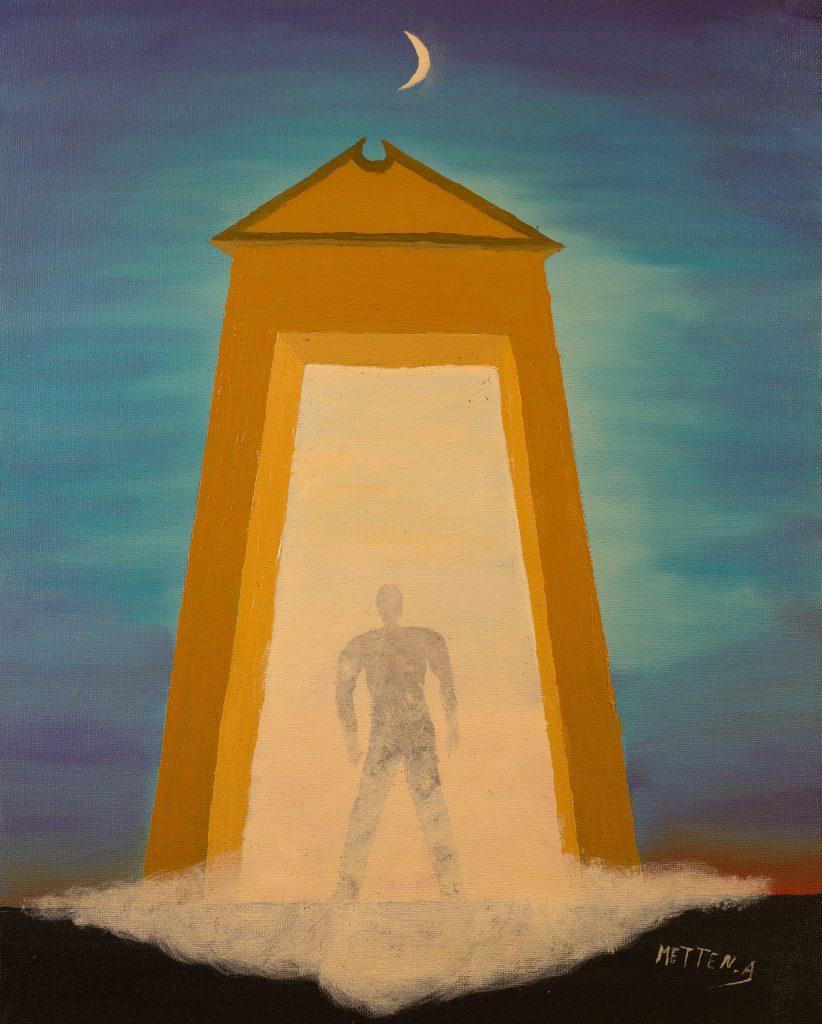 Passage de la vie à la mort, Alphons Metten
